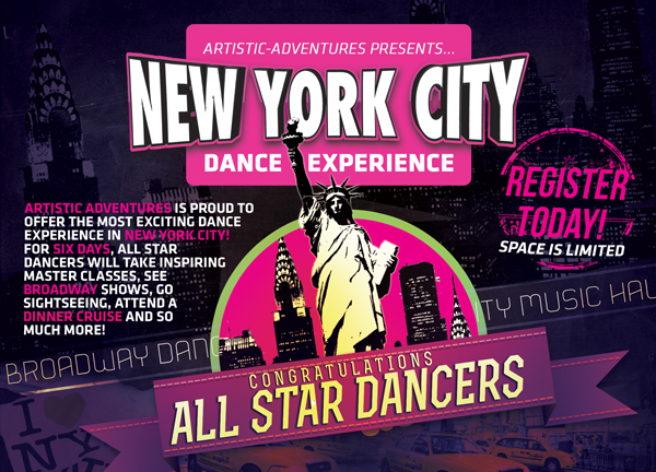 ✰ 2015 All Star Dance Experience in NEW YORK CITY! ✰
