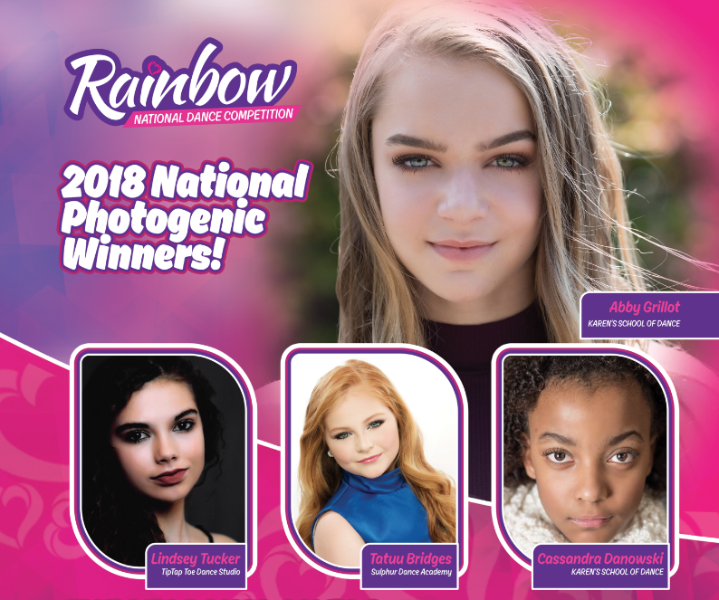 2018 National Photogenic Winners